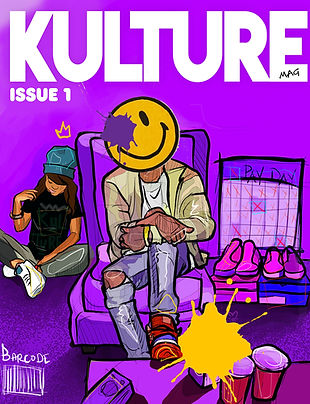 KultureMAG Cover Issue One
