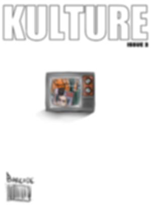 Magazine cover for KultureMAG issu number2