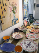 Pottery painting classes
