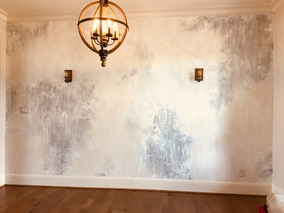 textured faux wall