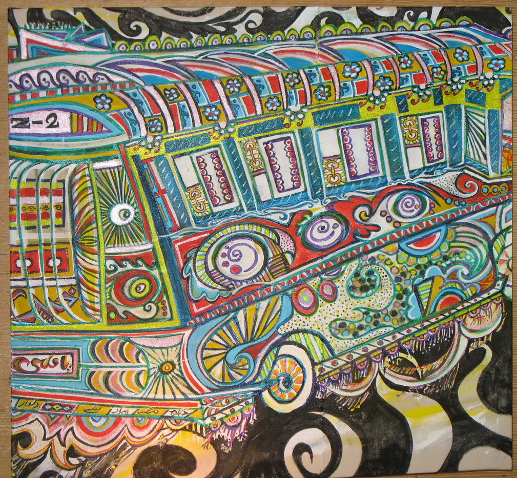 Bus Supporting art