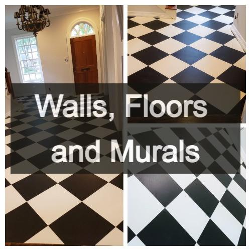 Walls, Floors and Murals