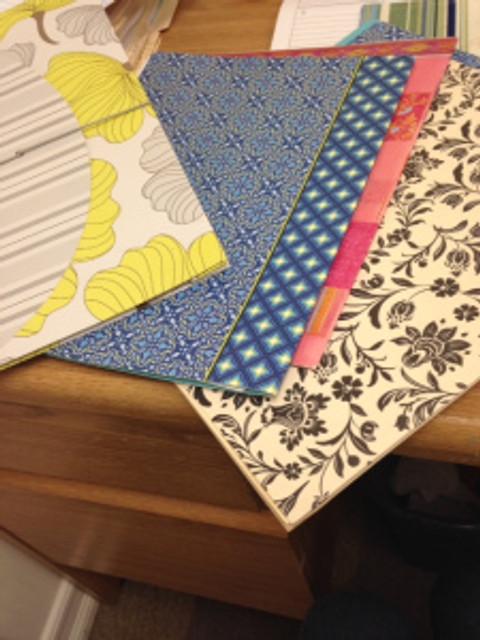 Stylish folders