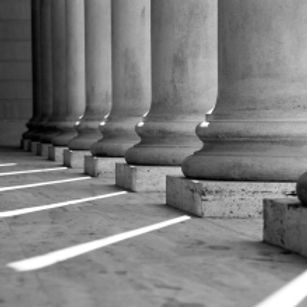 bigstock_ionic_columns_black_and_white_1