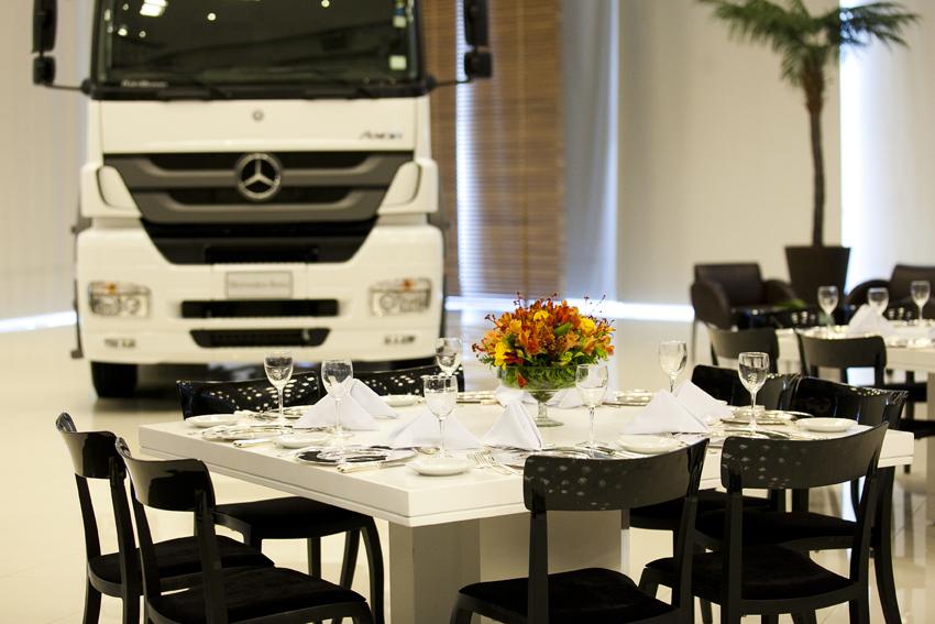 Visita a fábrica Mercedes-Benz