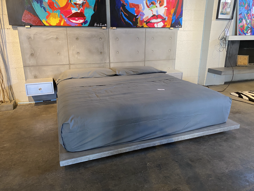 King Size Conrete Bed