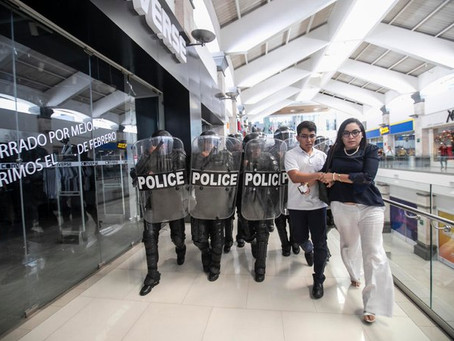 Estado policial ante cualquier intento de protesta en Nicaragua