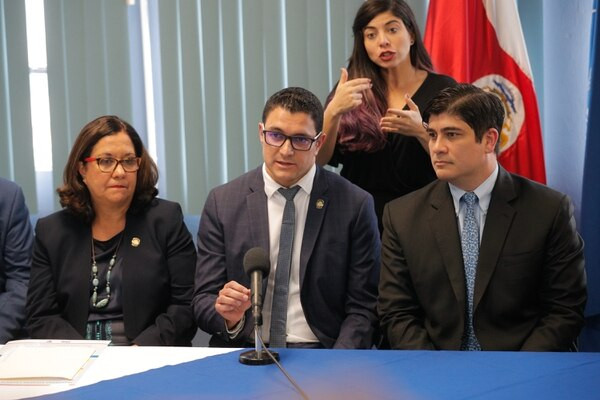 El Presidente de Costa Rica ha declarado emergencia nacional - Fotografía cortesía