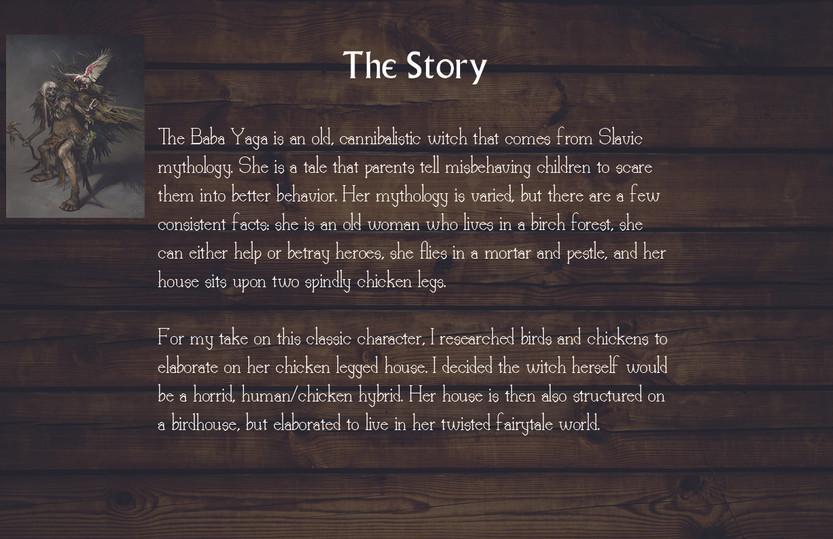 Baba Yaga: Story