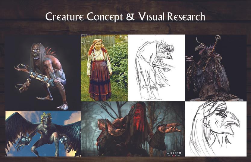 Baba Yaga: Character Concept