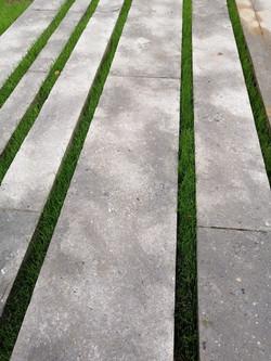 terraza piedra