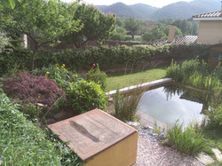 Piscina natural a Girona