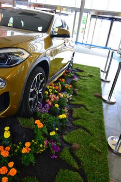 BMW X2 exposició a Girona