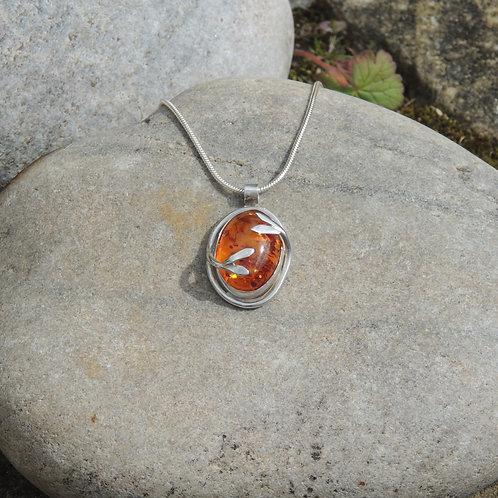 Amber  Liana Pendant