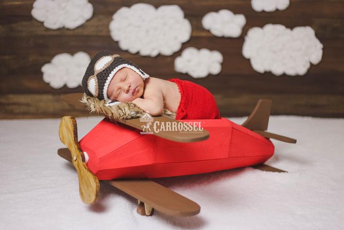 Henrique - O pequeno aviador!