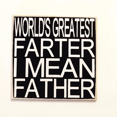 """2"""" X 2"""" Magnet FATHER"""