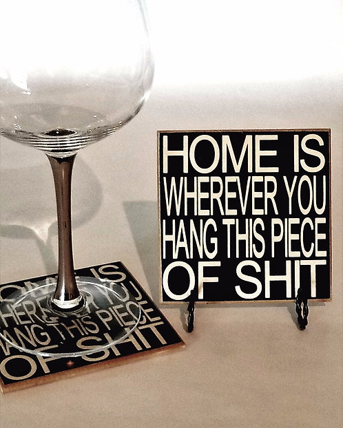 "4"" x 4"" Coaster HOME"