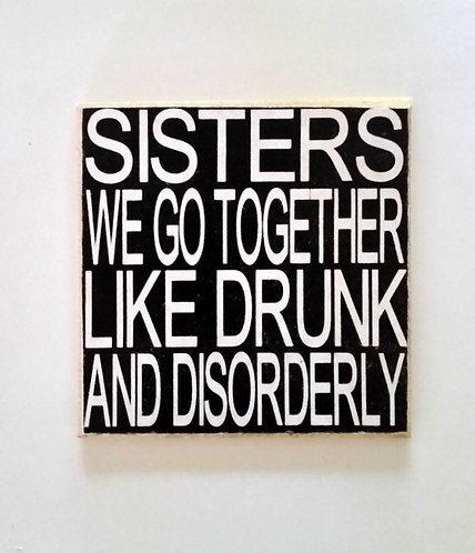 "2"" X 2"" Magnet SISTERS"
