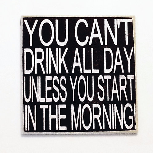 "2"" X 2"" Magnet DRINK/MORNING"