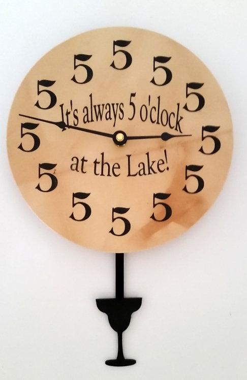 5 o'clock at the Lake