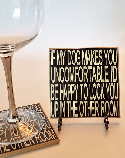 "4"" x 4"" Coaster LOCK/DOG"