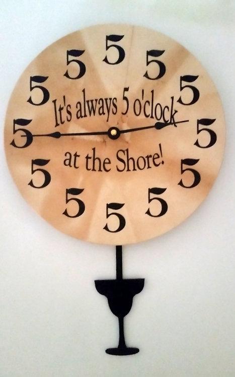 5 o'clock at the Shore