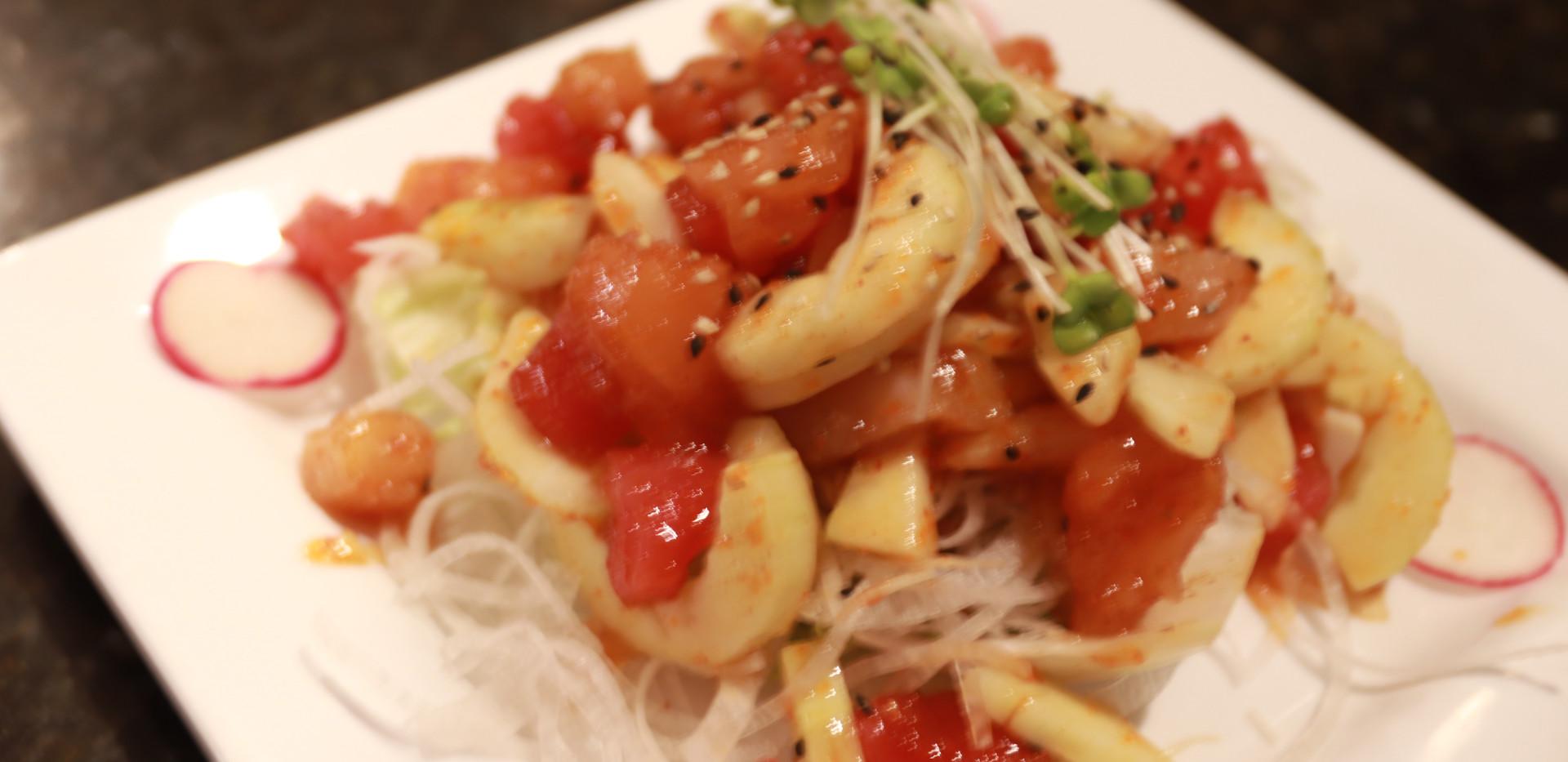 Spicy Fish Salad