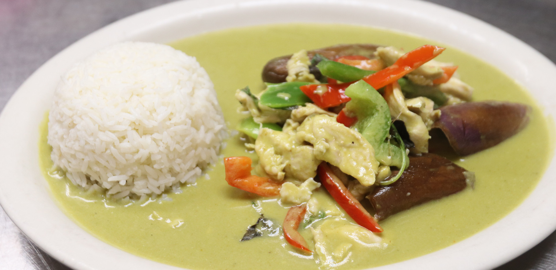 Grenn curry - Lunch Special