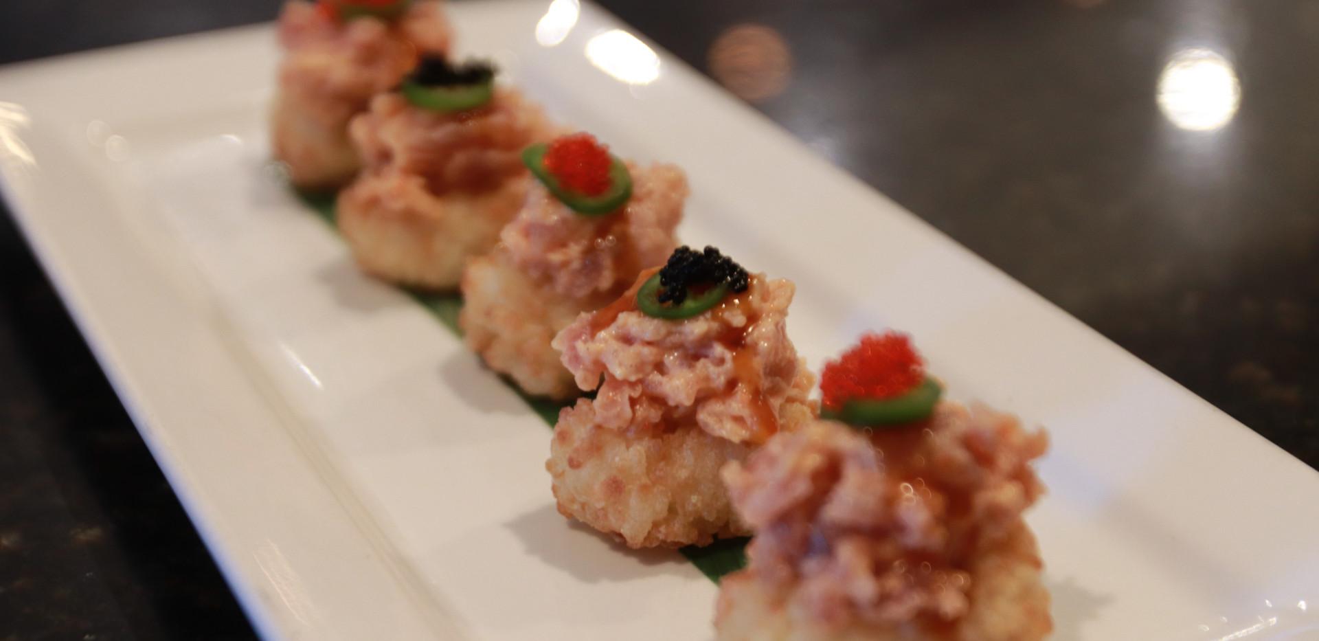 Crispy Rice Tuna Tartar