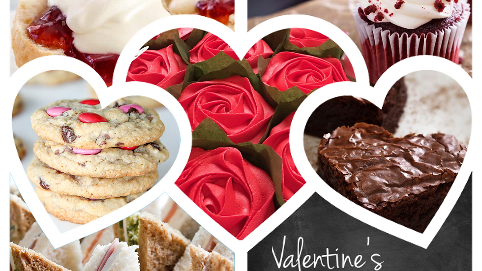 Valentine's Afternoon Tea for 2