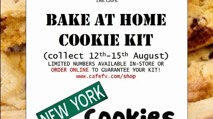 New York Cookies 'BAKE BAG'