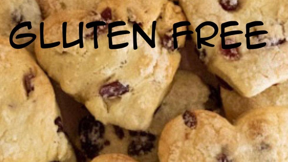 GF Valentine's scone box for 2 (with cream & jam)