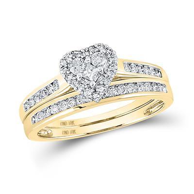 10K Gold .50ctw Diamond Ring