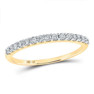 14k Gold .25ctw Diamond Ring