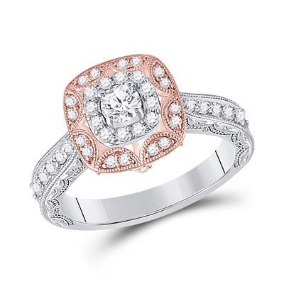 14k Gold .75ctw Diamond Ring