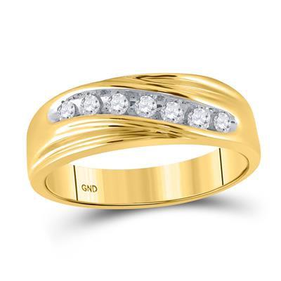 10K Gold .25ctw Diamond Ring