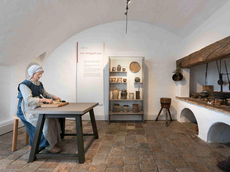 Die Küche im ersten Stock
