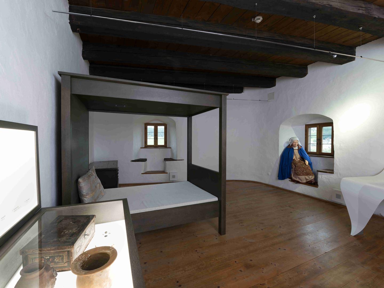 Das Zimmer der Weißen Frau im zweiten Stock