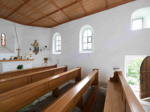 Das Innere der Burgkapelle
