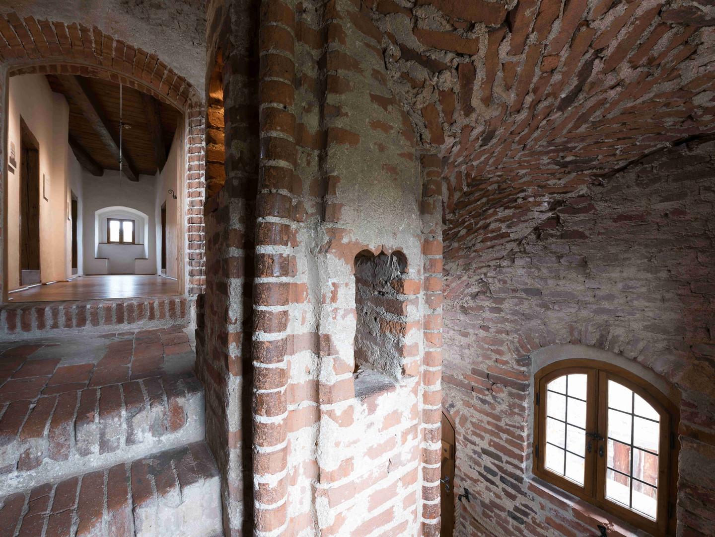 Das Innere des Treppenturms