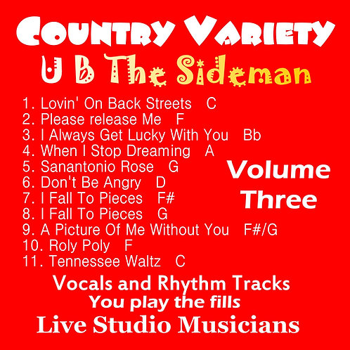 "The New Series Of  ""UB The Sideman"" Vol. 3"