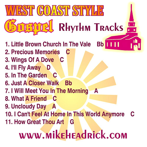 West Coast Gospel Rhythm Tracks