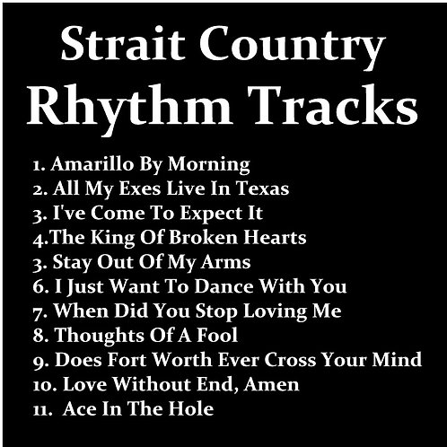 Strait Country Rhytm Tracks