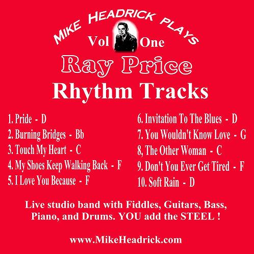 Ray Price Tribute Rhythm Tracks Vol. 1