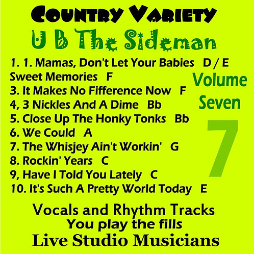 Country Variety UB The Sideman Vol. 7