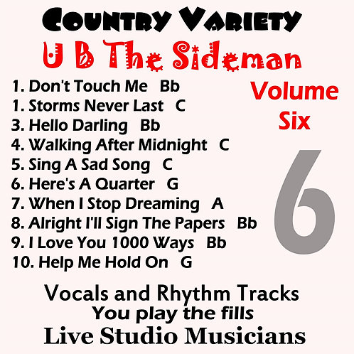 Country Variety UB The Sideman Vol. 6