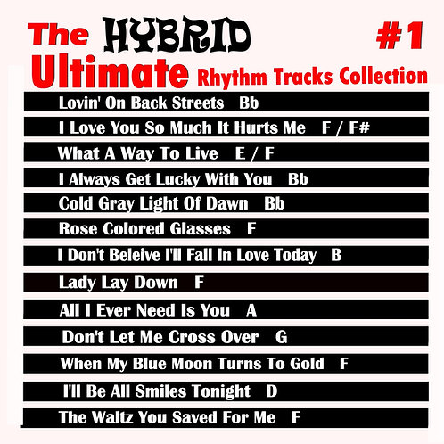 The Ultimate Hybrid Rhythm Tracks Collection Vol. 1
