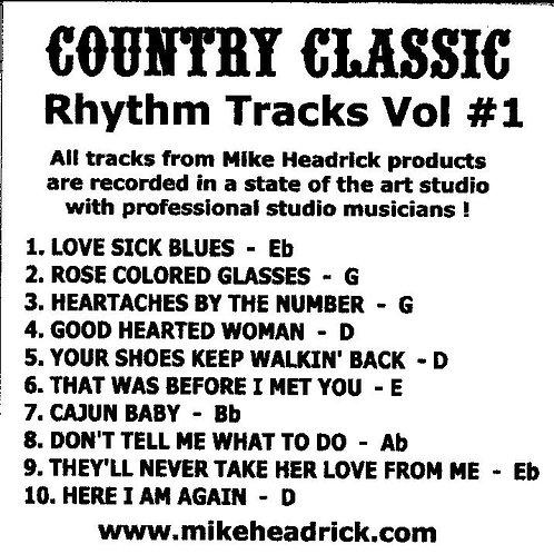 Country Classics Vol #1