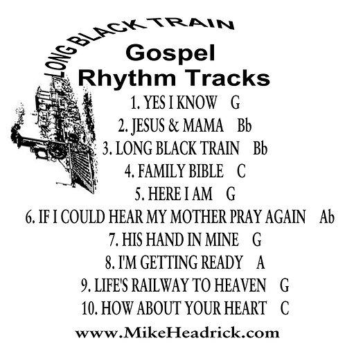 Long Black Train Rhythm Tracks