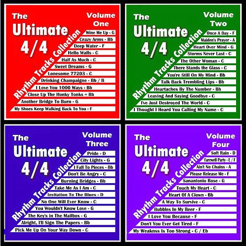 The Original Ultimate 4/4 Rhythm Tracks Collection Set of 4